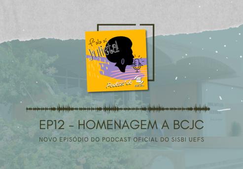 """Novo episódio do podcast """"Fala aí, Julieta!"""" sobre os 45 anos da Biblioteca Central Julieta Carteado."""